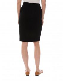 Peace of Cloth - Logan Black Knit Pull-On Skirt