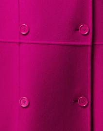 Max Mara Studio - Onde Pink Double Wool Short Coat