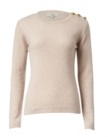 Molly Beige Cashmere Sweater