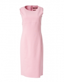 Carol Pink Stretch Wool Crepe Dress