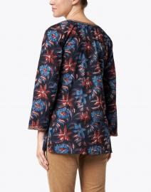 Bella Tu - Katya Navy, Red & Blue Floral Cotton Tunic