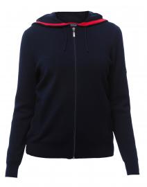 Motala Navy Wool Jacket