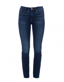 Riche Touch Medium Blue Slim Straight Denim Jean