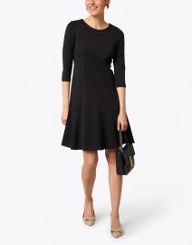 Peace of Cloth - Hoda Black Stretch Knit Dress