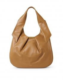 Milan Deep Toffee Smooth Leather Shoulder Bag