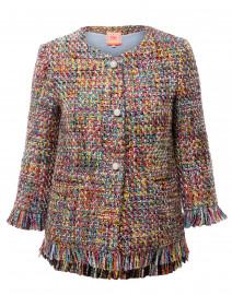 Monica Multicolored Fringe Jacket