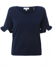 Navy Cotton Top