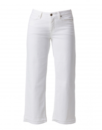 Phillipa White Stretch Denim Culotte Jean