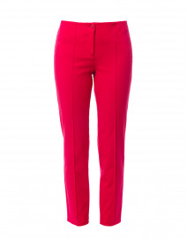 Ros Raspberry Pink Cotton Stretch Pant