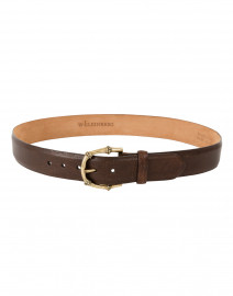 Pebbled Bison Belt