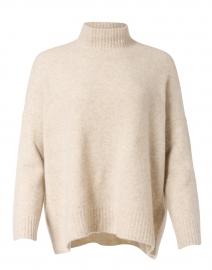 Maple Oat Cashmere Silk Boucle Sweater