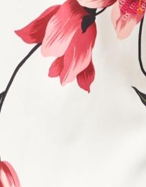 Kobi Halperin - Chelsey Ivory Magnolia Floral Printed Viscose Blouse