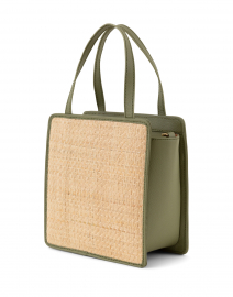 Kayu - Kessie Natural Woven Straw Crossbody Bag