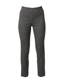 Milo Black and Grey Check Pull-On Pant