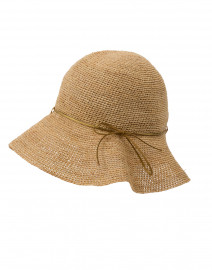 Gold Ribbon Packable Traveler Hat