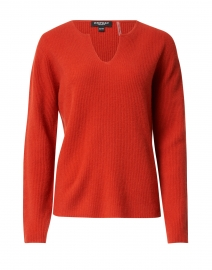 Paprika Red Cashmere Sweater