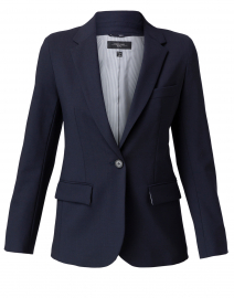 Sequoia Navy Wool Blazer