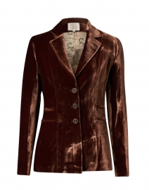 Mariane Copper Velvet Jacket