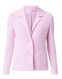 Cielo Bright Pink and White Cotton Blazer