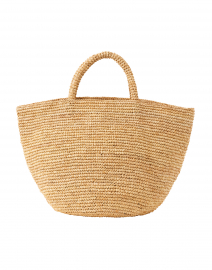 Kapity Medium Natural Raffia Woven Tote