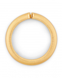 Aida Gold Cobra Collar Necklace