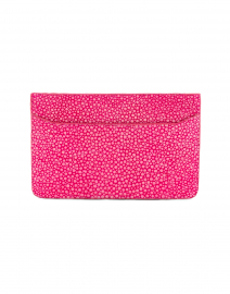 Claire Hot Pink Stingray Credit Card Holder