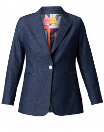 Katrina Dark Denim Blazer