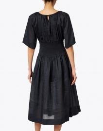 Joseph - Daison Black Cotton Viole Midi Dress