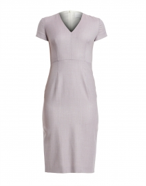 Danati Light Rose Wool Sheath Dress
