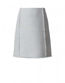 Vomanda Light Blue Tweed Skirt