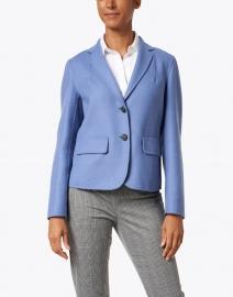 Weekend Max Mara - Sante Blue Wool Short Blazer