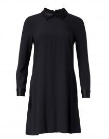 Karmel Dark Navy Cady Satin Dress