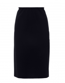 Arcadia Navy Jersey Pencil Skirt