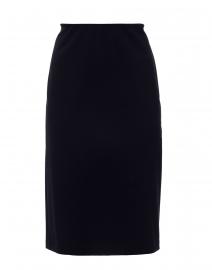Arcadia Navy Jersey Pencil Skirt