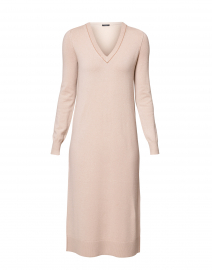 Tina Beige Cashmere Dress