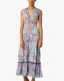 Poupette St Barth - Ivy Sky Blue Murrina Print Dress