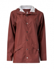 Maroon Short Rain Jacket