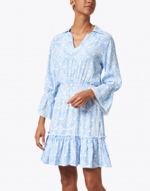 Walker & Wade - Mia Periwinkle Medallion Print Dress
