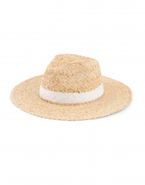 Hat Attack - Natural and White Seashore Rancher Hat