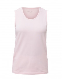 Pale Pink Stretch Cotton Tank