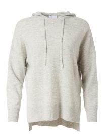 Light Grey Wool Cashmere Hoodie