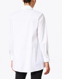 Finley - Trapeze White Button Up Shirt