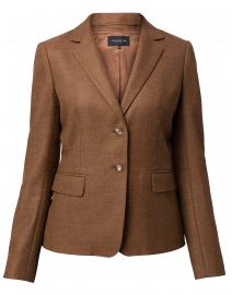 Thatcher Brown Wool Silk Blazer