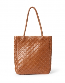 Le Tote Sienna Brown Leather Bag