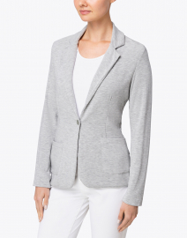 Majestic Filatures - Grey Heather French Terry Blazer