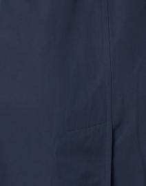 Jane Post - Navy Techno Water Repellent Trench Coat