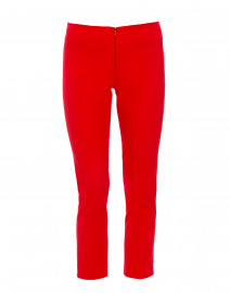 Jerry Red Stretch Cotton Pant