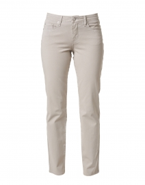 Grey Stretch Cotton Twill Jean