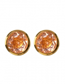 Pink Morganite Signature Knockout Studs