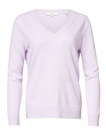 French Lilac Cashmere Sweater